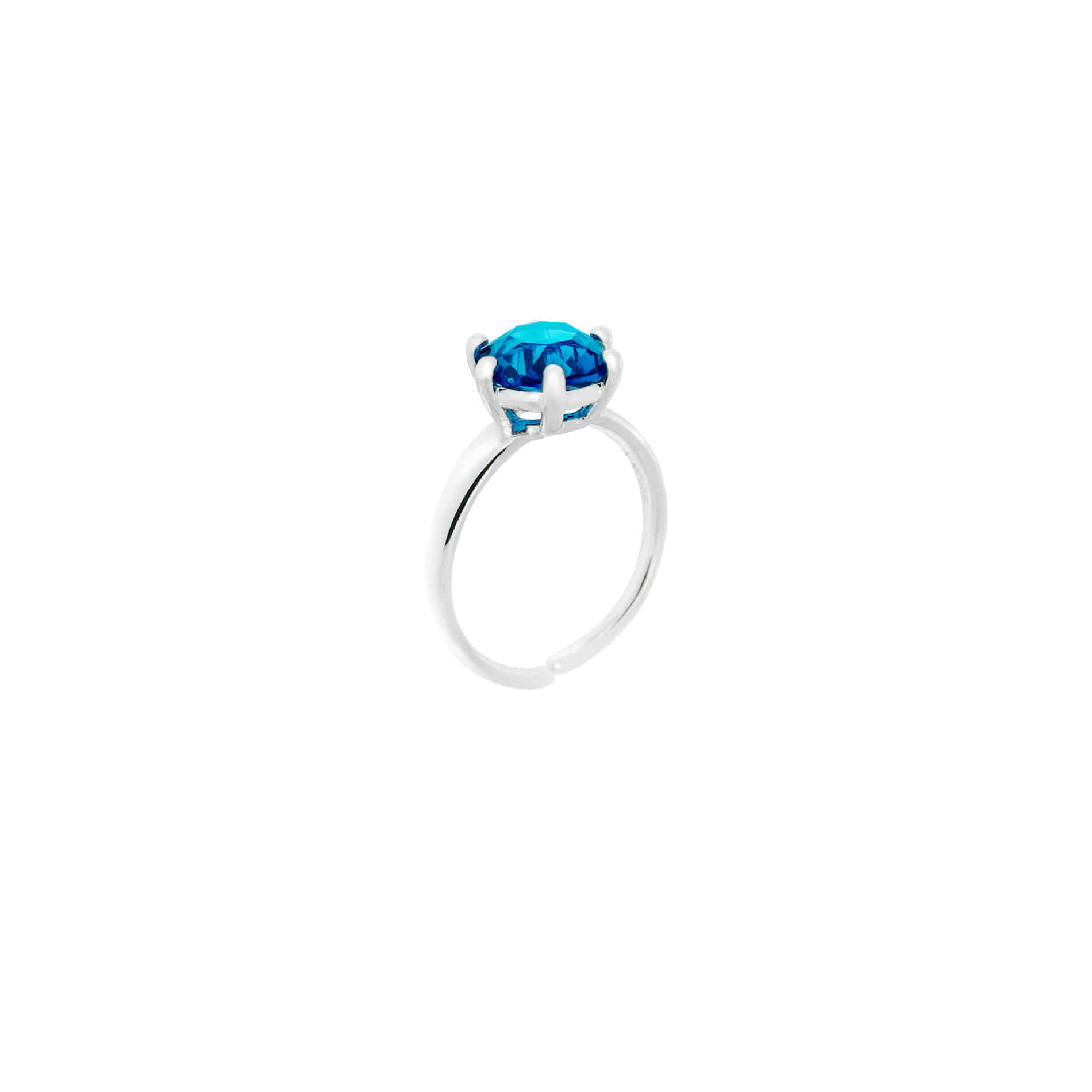 MINI DIAMOND CANDY RING (BLUE)