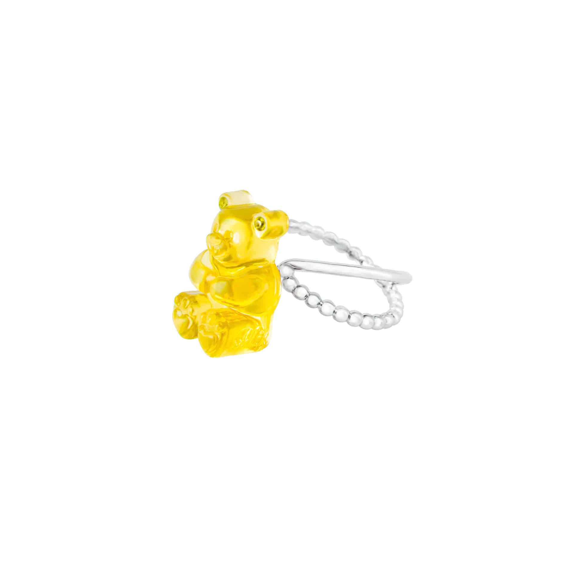 GUMMY BEAR RING (YELLOW)