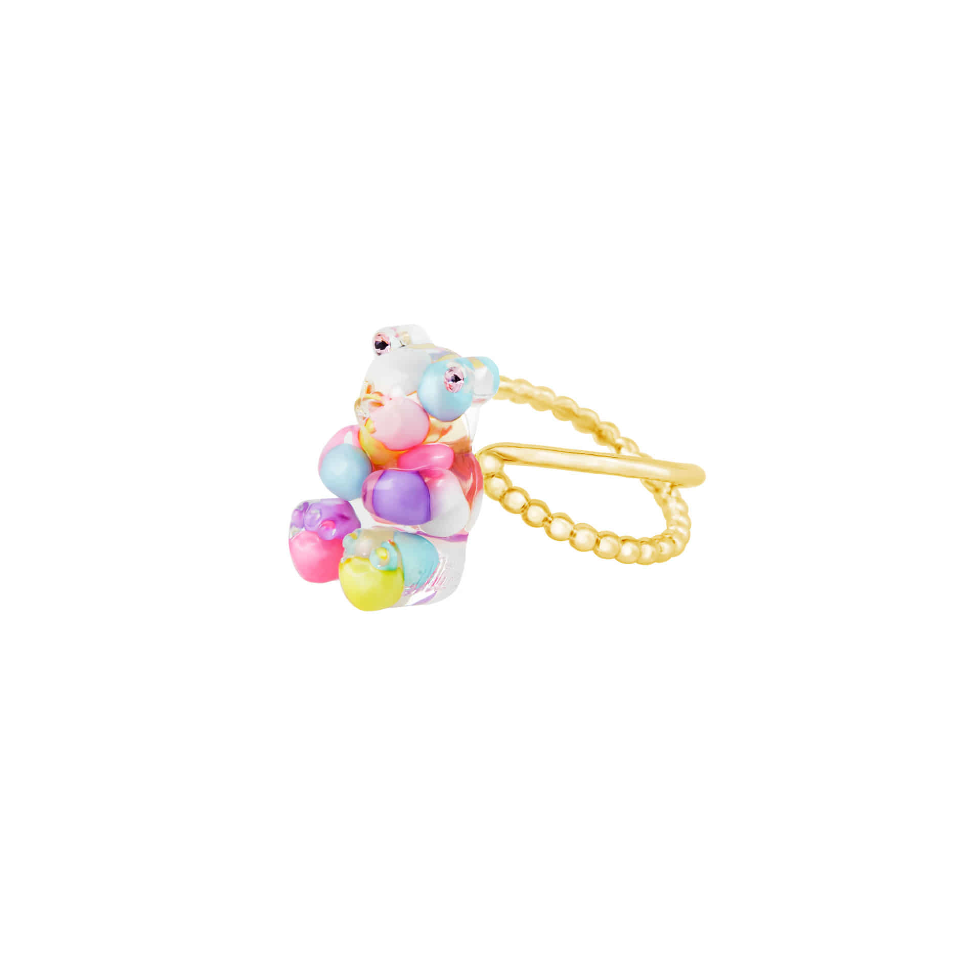 GUMMY BEAR RING (MULTI PASTEL)