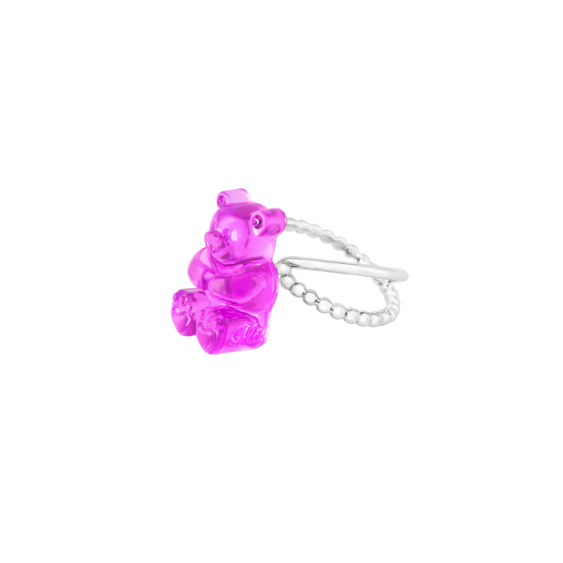 GUMMY BEAR RING (PURPLE)