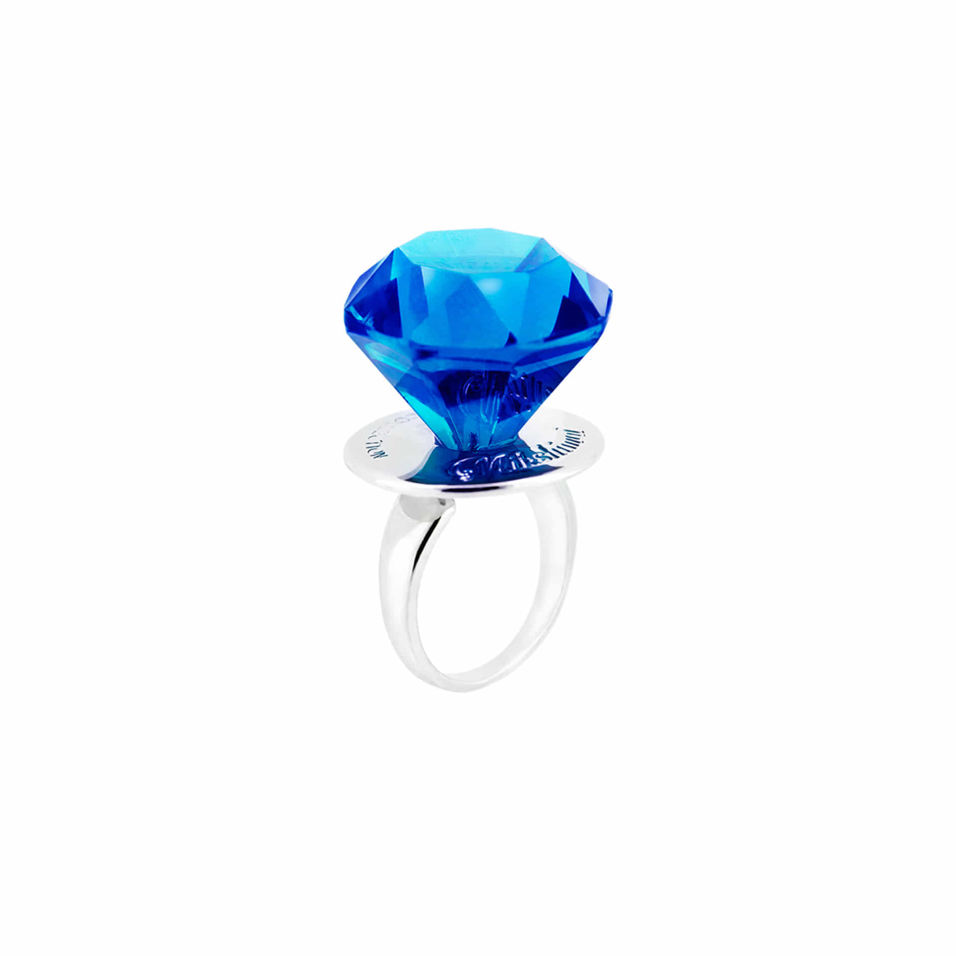 DIAMOND CANDY RING (BLUE)