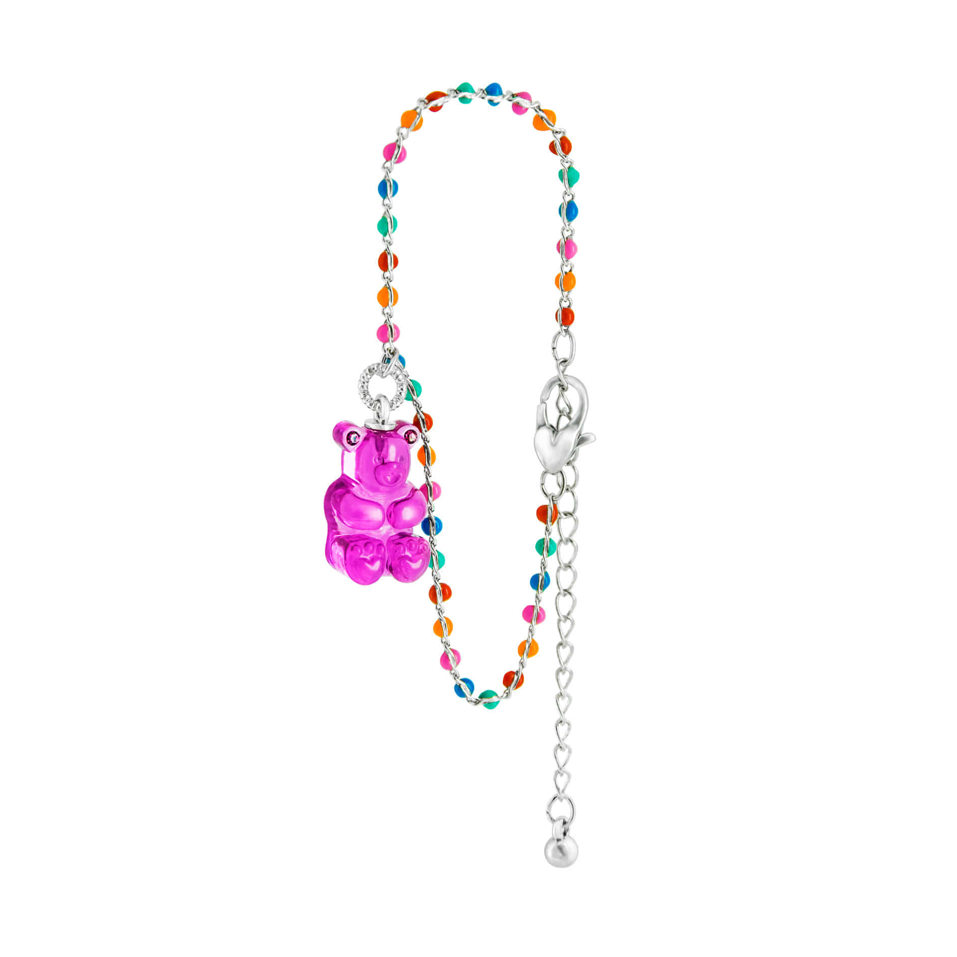 GUMMY BEAR DOT BRACELET (PURPLE)
