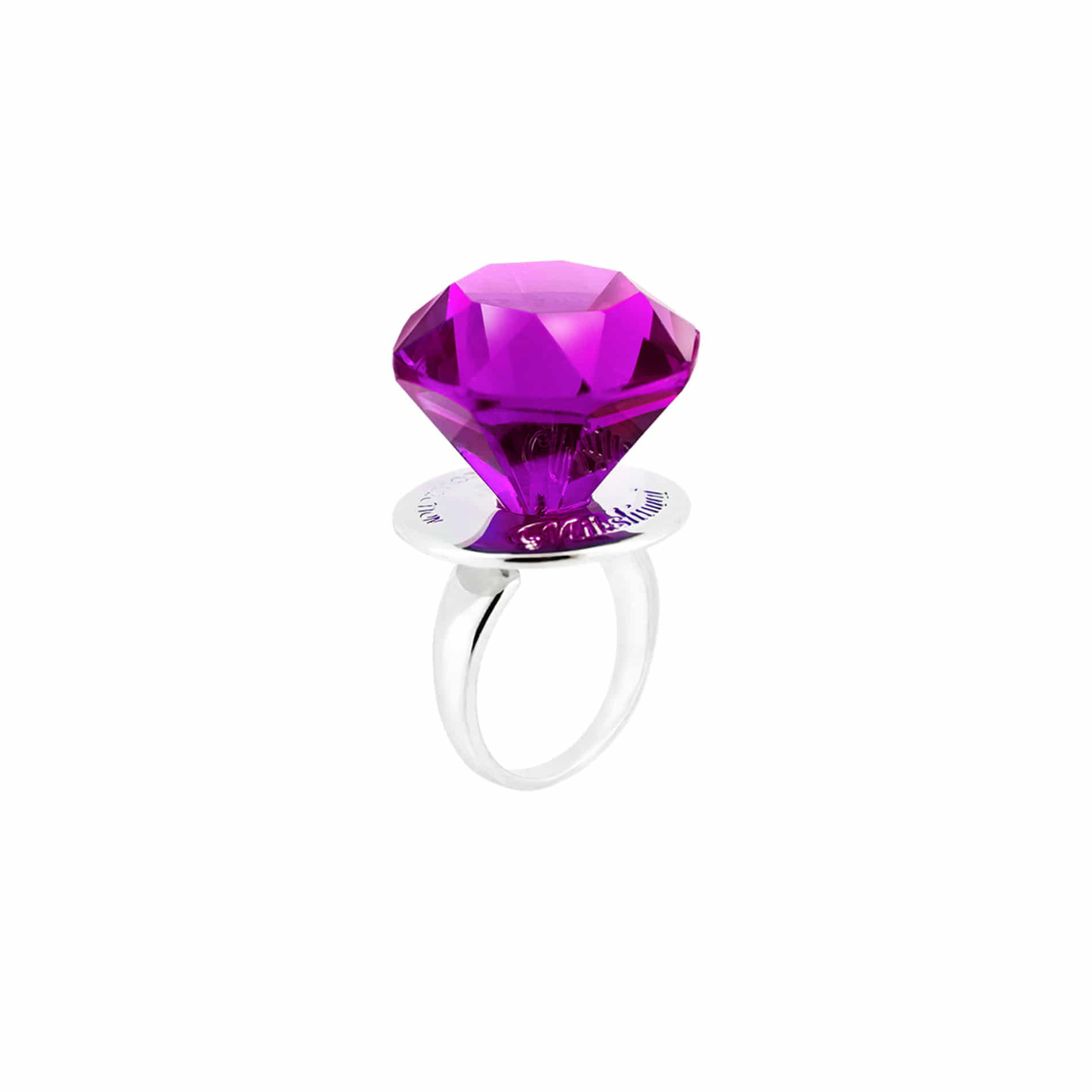 DIAMOND CANDY RING (GRAPE)