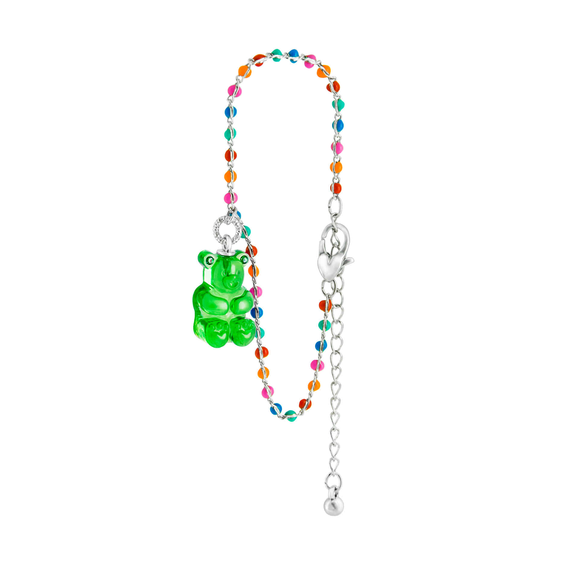 GUMMY BEAR DOT BRACELET (GREEN)