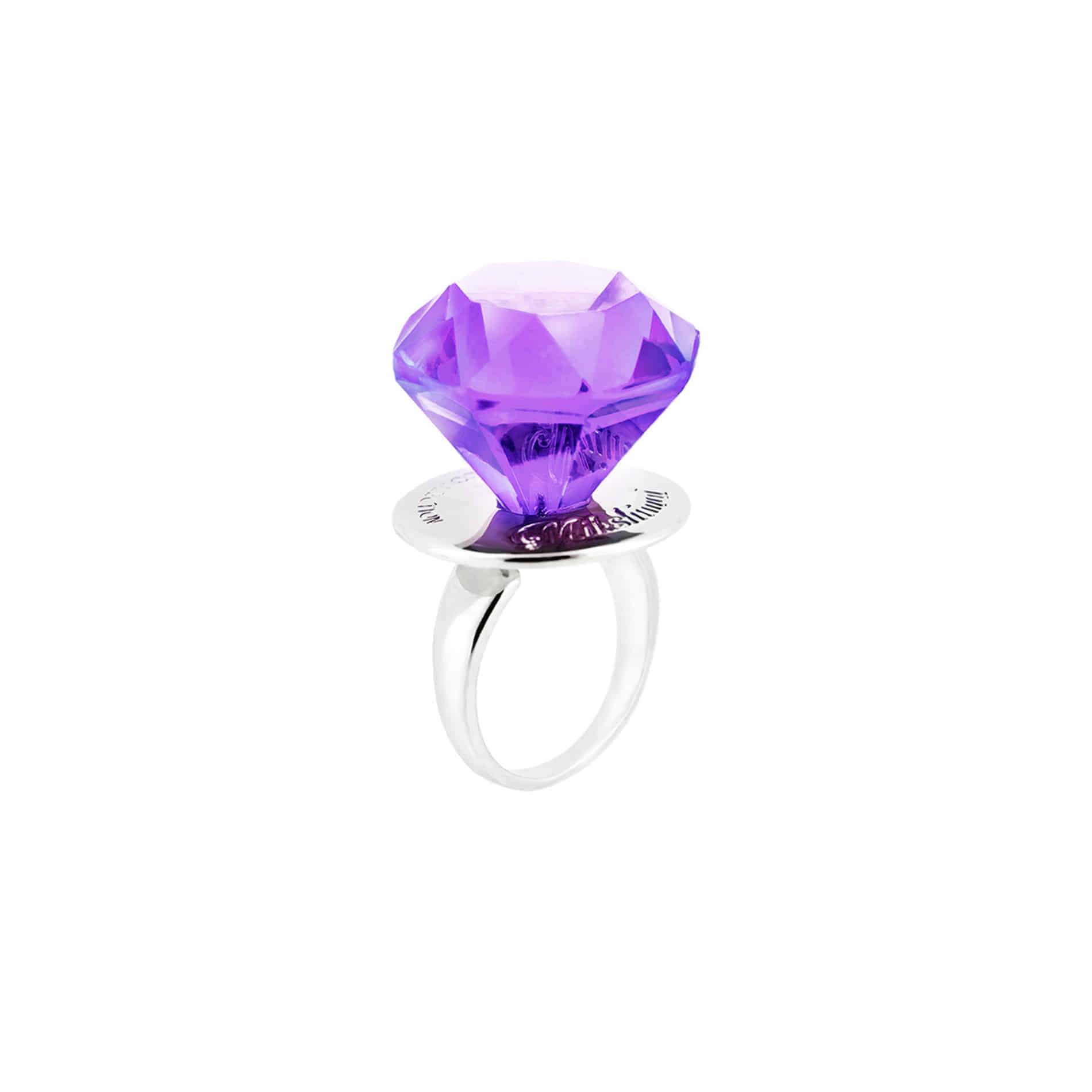 DIAMOND CANDY RING (PURPLE)