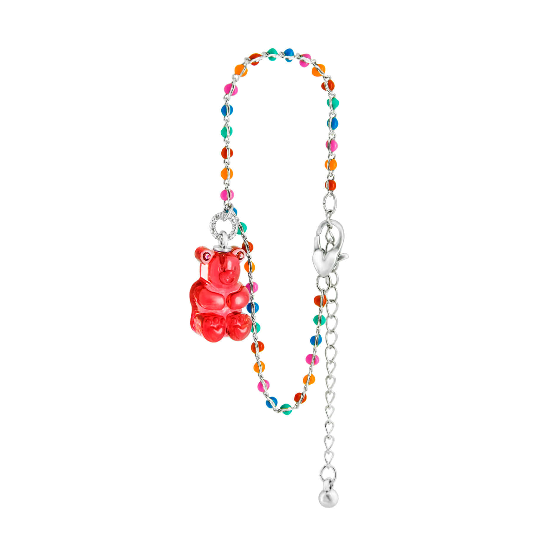 GUMMY BEAR DOT BRACELET (RED)