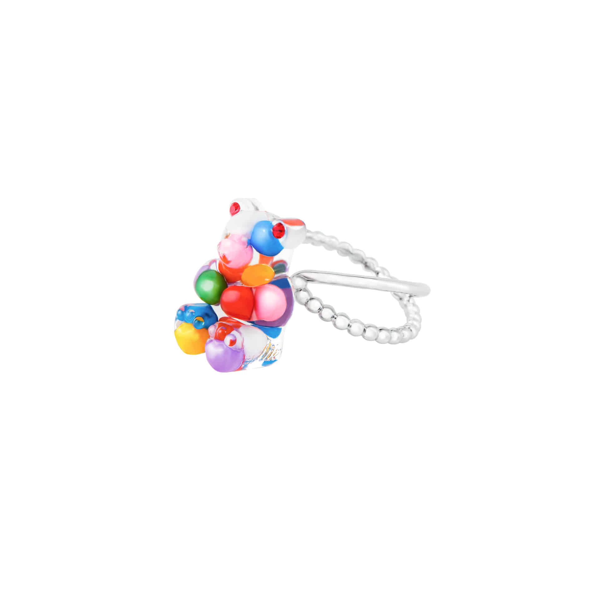 GUMMY BEAR RING (MULTI VIVID)