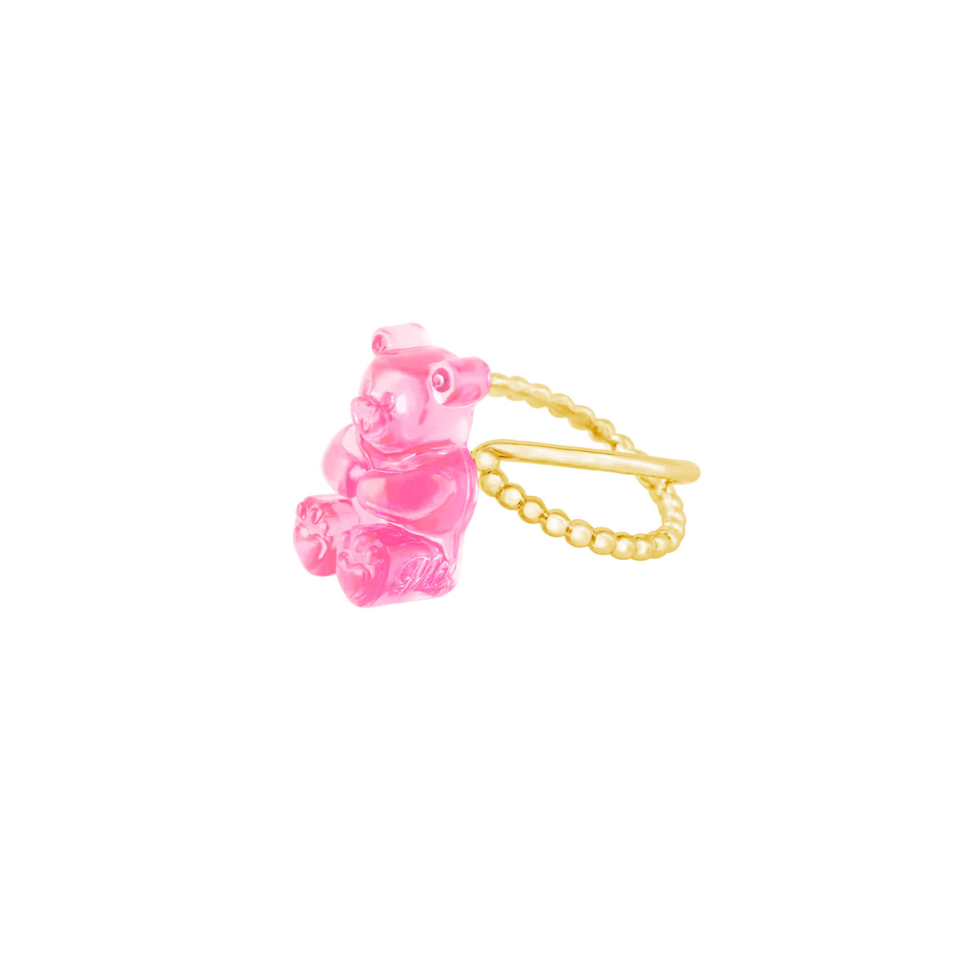 GUMMY BEAR RING (PINK)