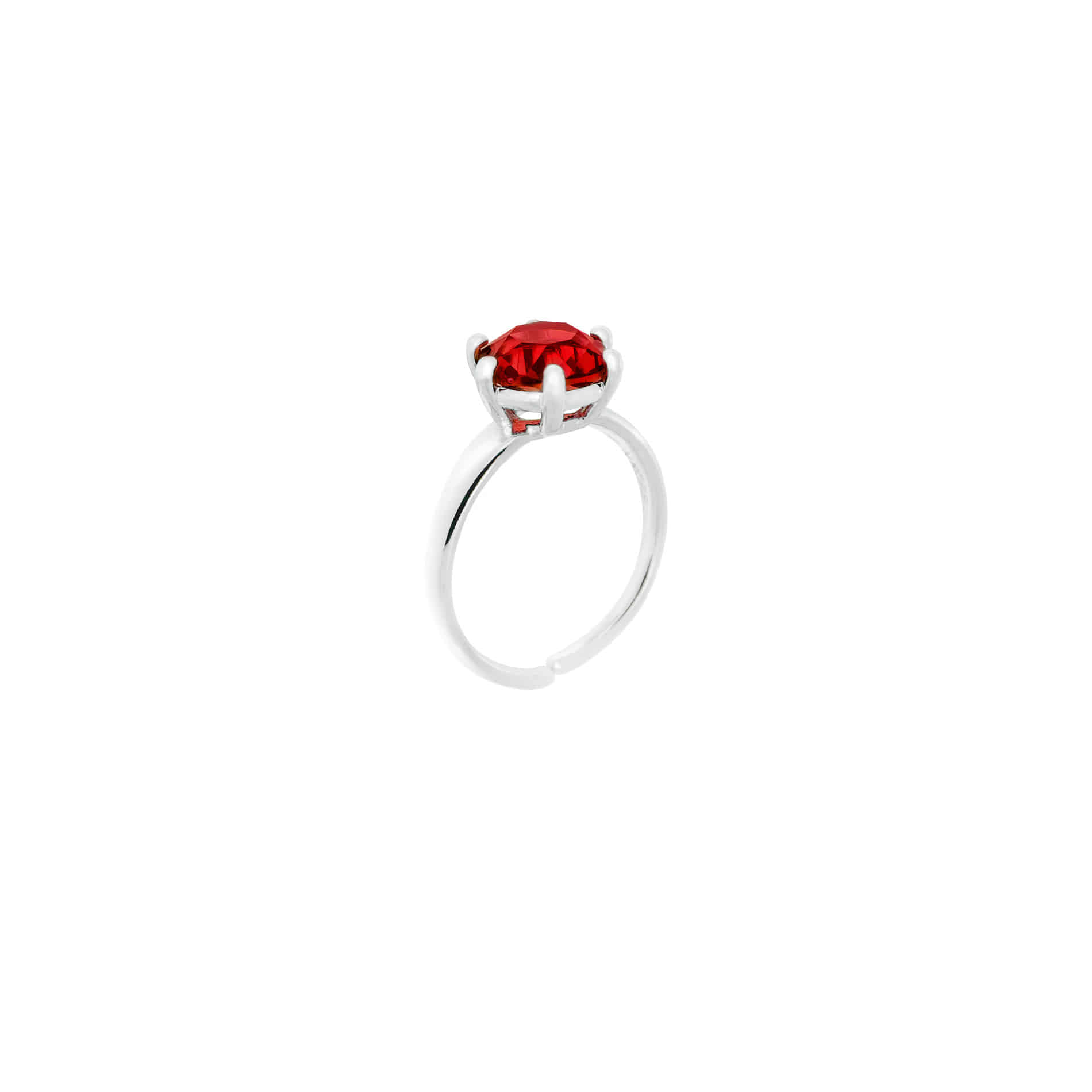 MINI DIAMOND CANDY RING (RED)