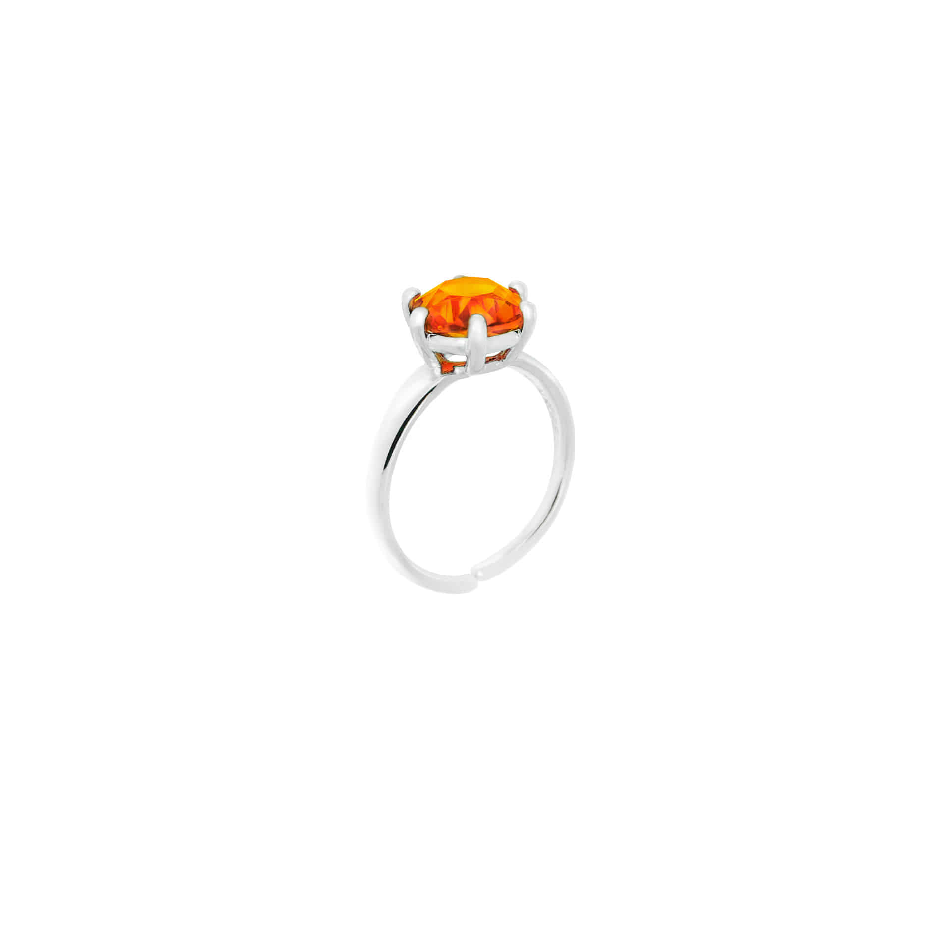MINI DIAMOND CANDY RING (ORANGE)