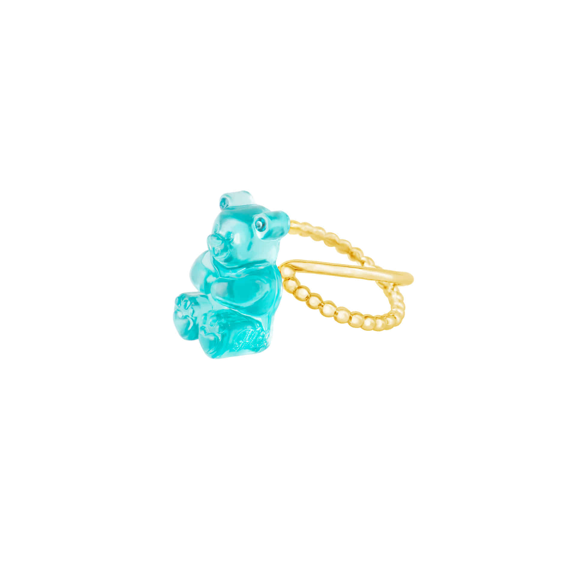 GUMMY BEAR RING (MINT)
