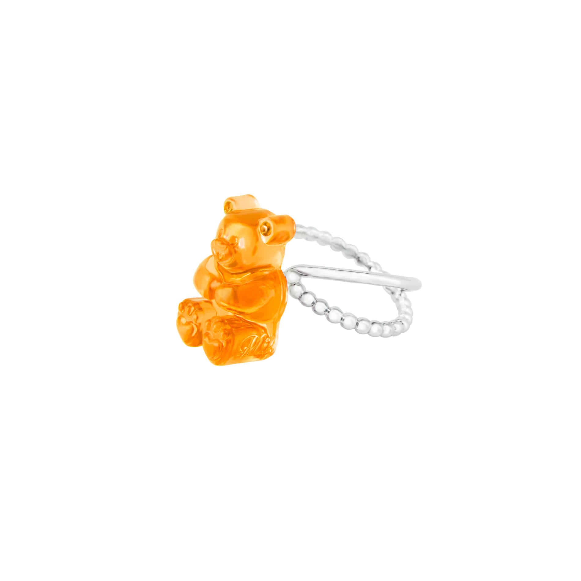 GUMMY BEAR RING (ORANGE)