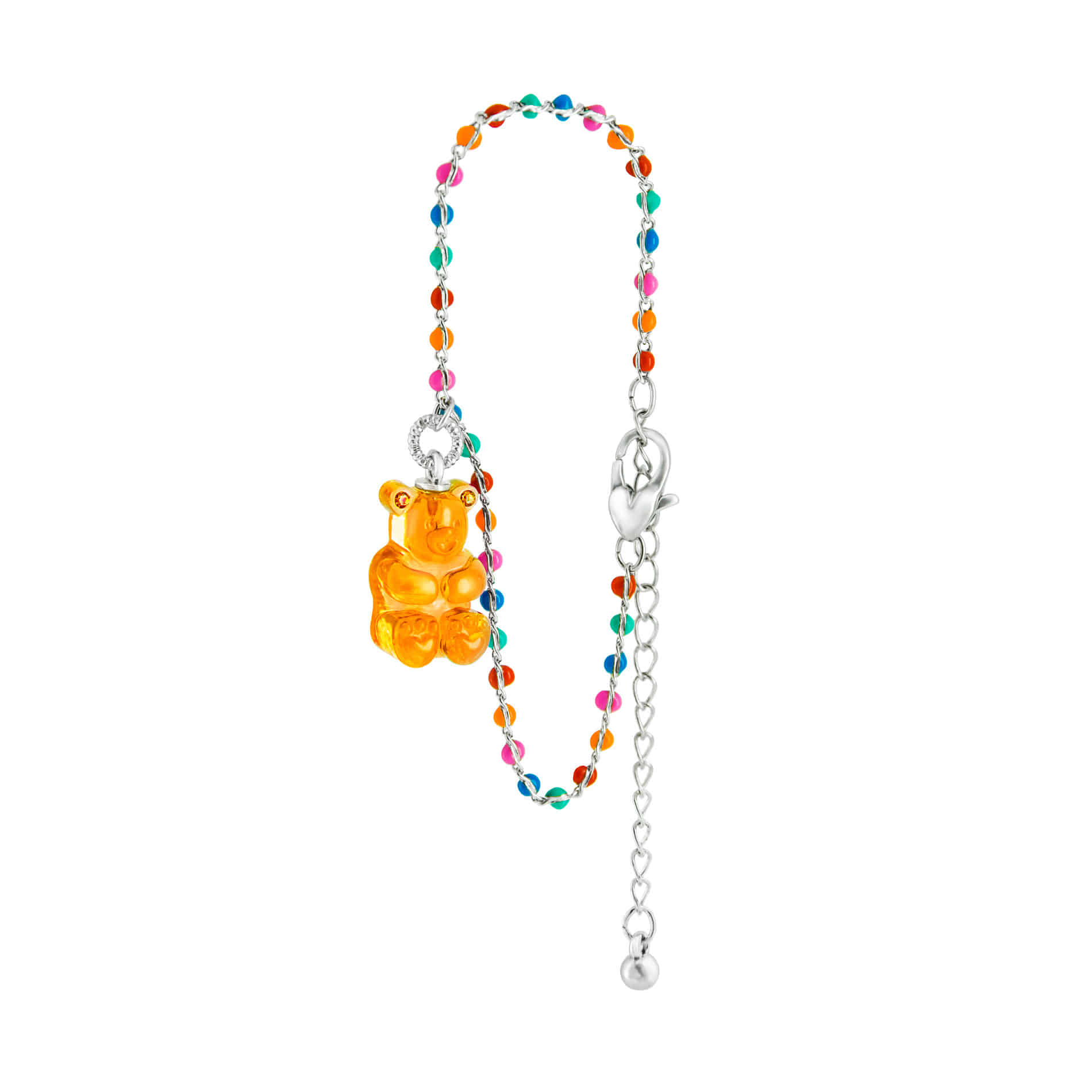 GUMMY BEAR DOT BRACELET (ORANGE)