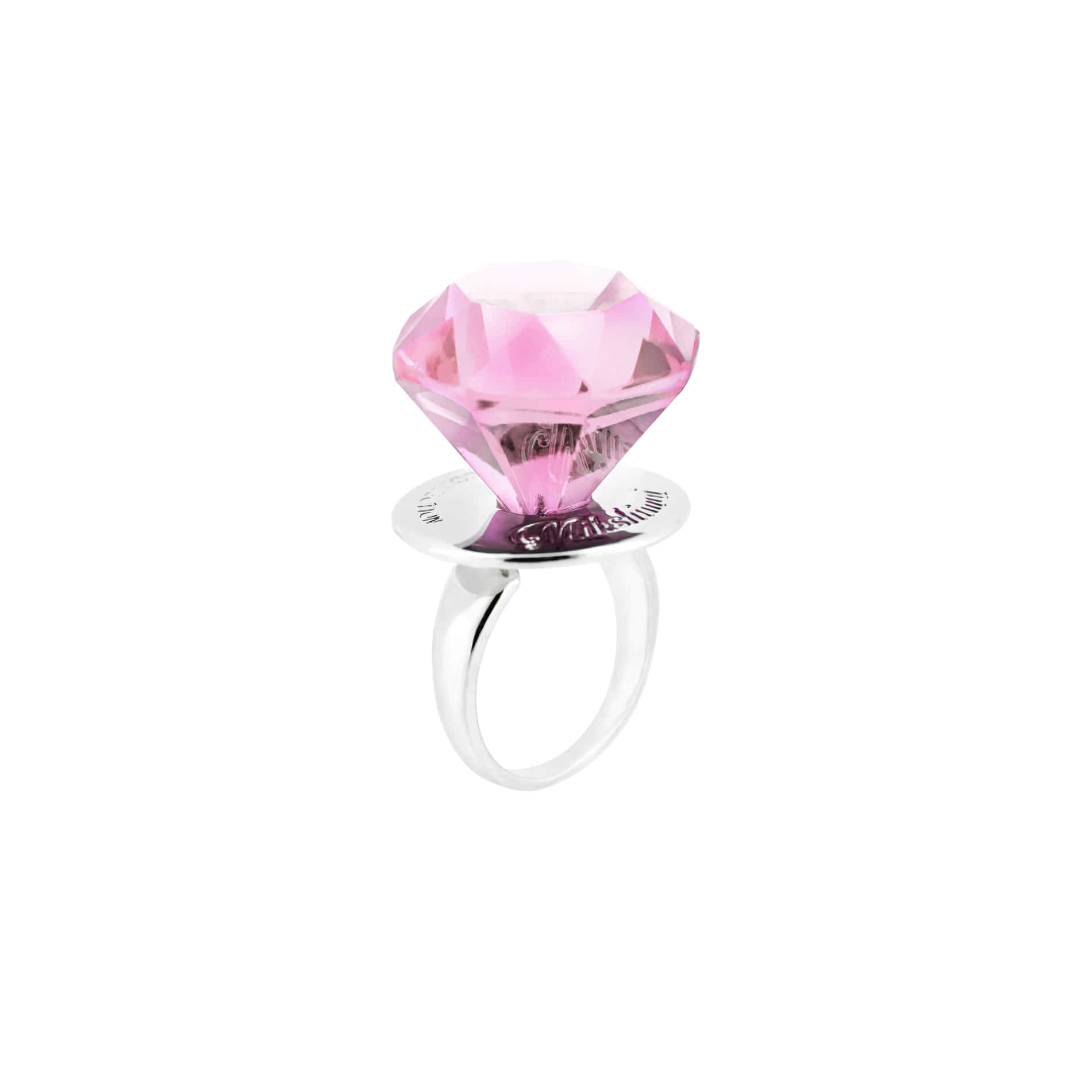 DIAMOND CANDY RING (PINK)