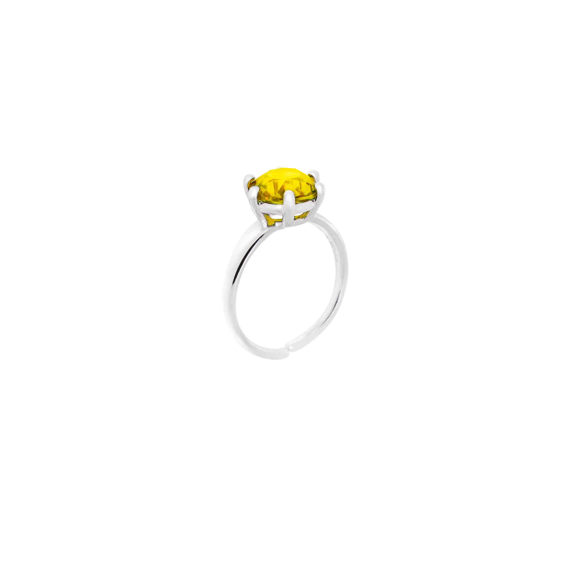 MINI DIAMOND CANDY RING (YELLOW)