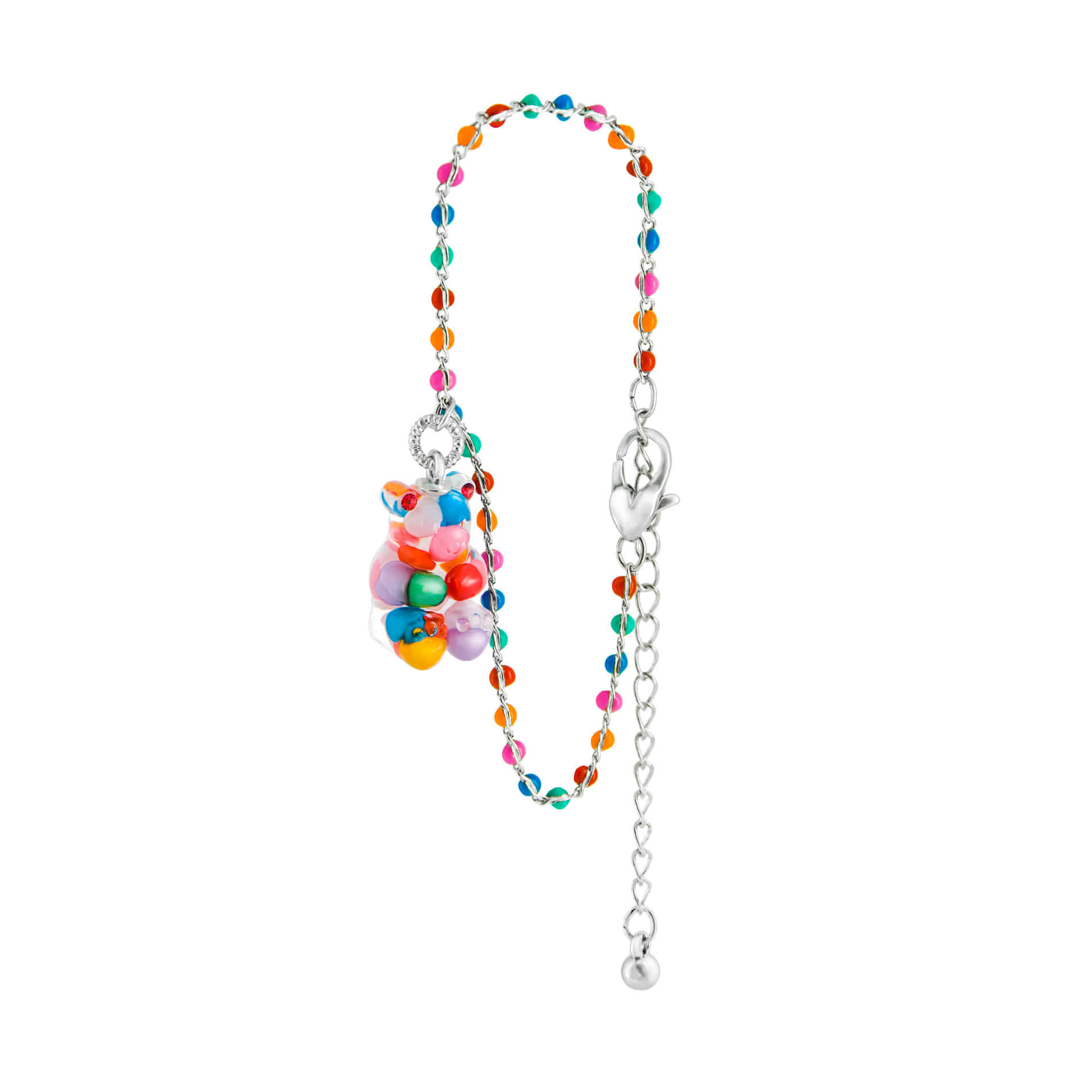 GUMMY BEAR DOT BRACELET (MULTI VIVID)