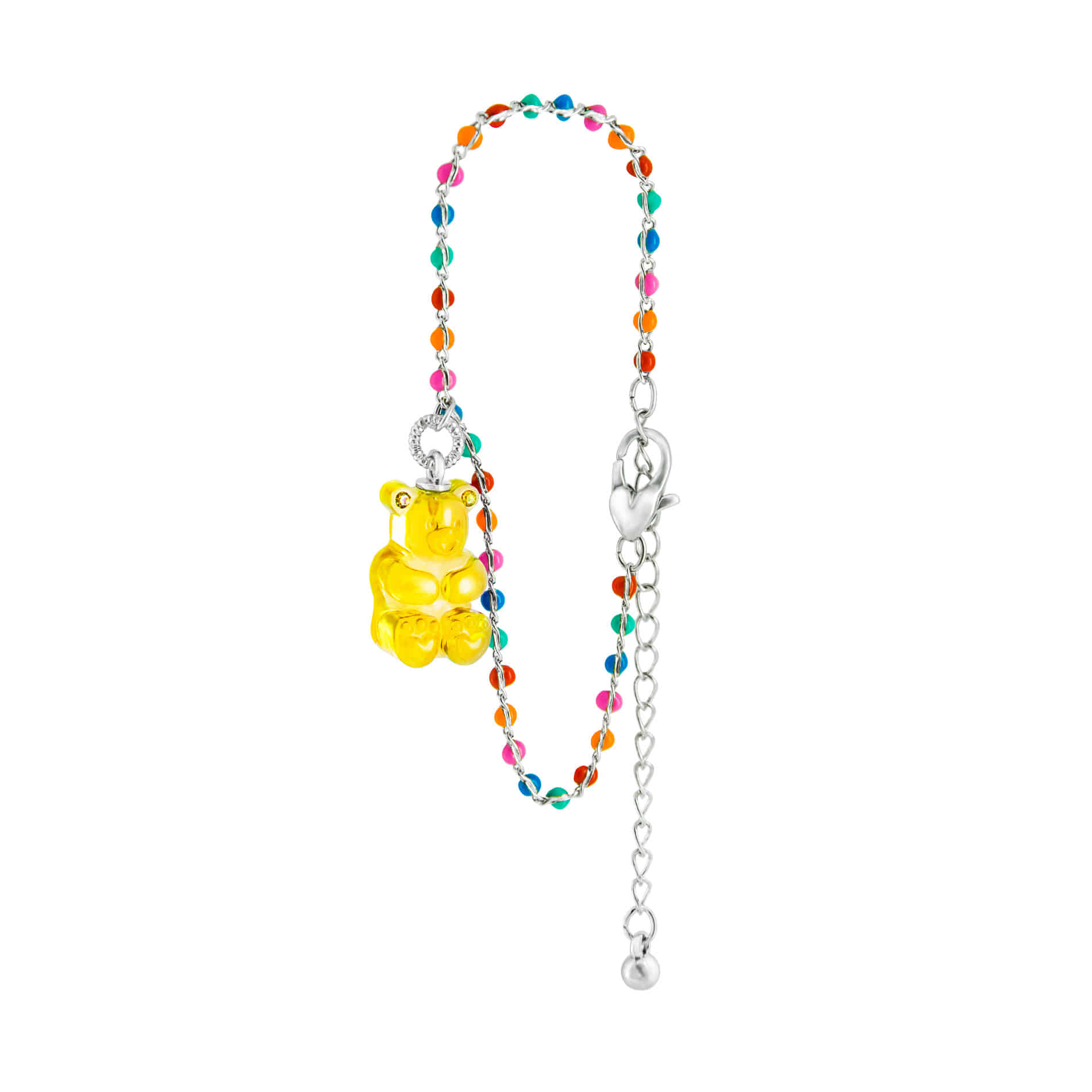 GUMMY BEAR DOT BRACELET (YELLOW)