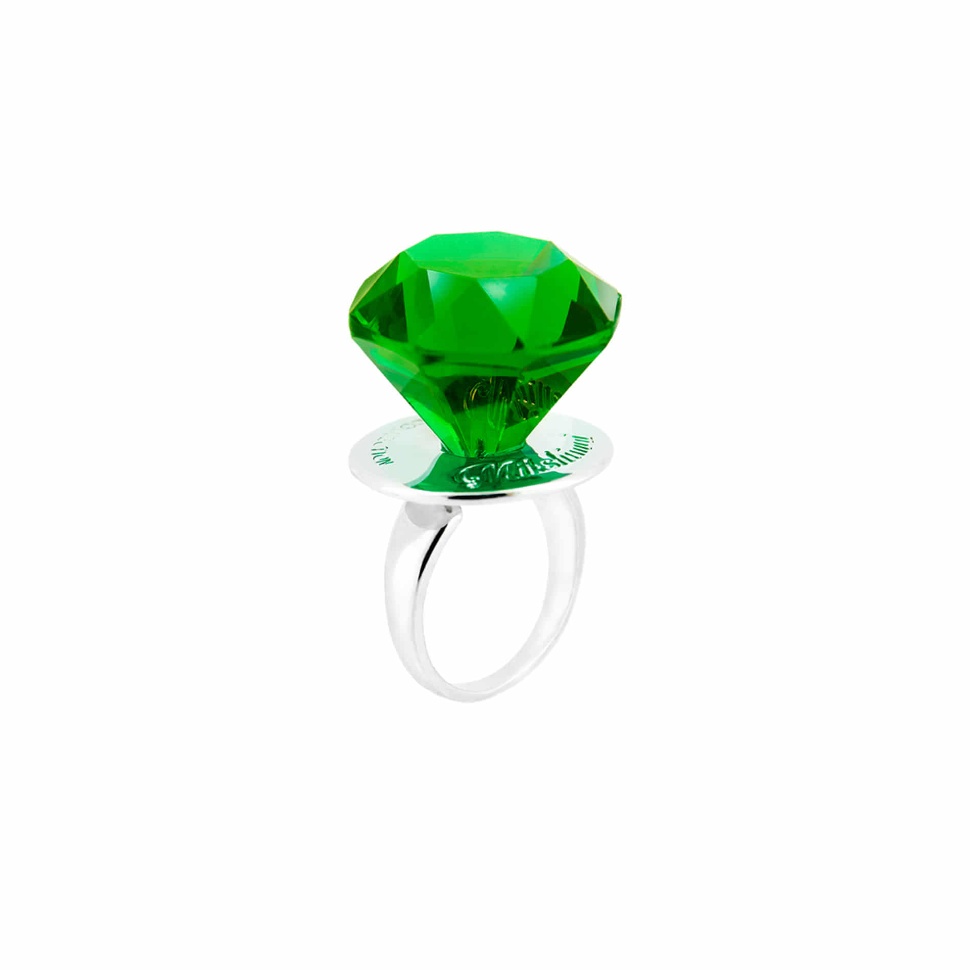 DIAMOND CANDY RING (GREEN)