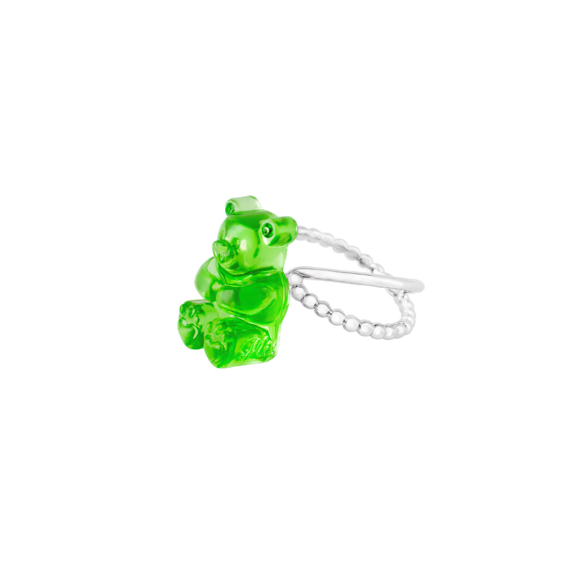 GUMMY BEAR RING (GREEN)
