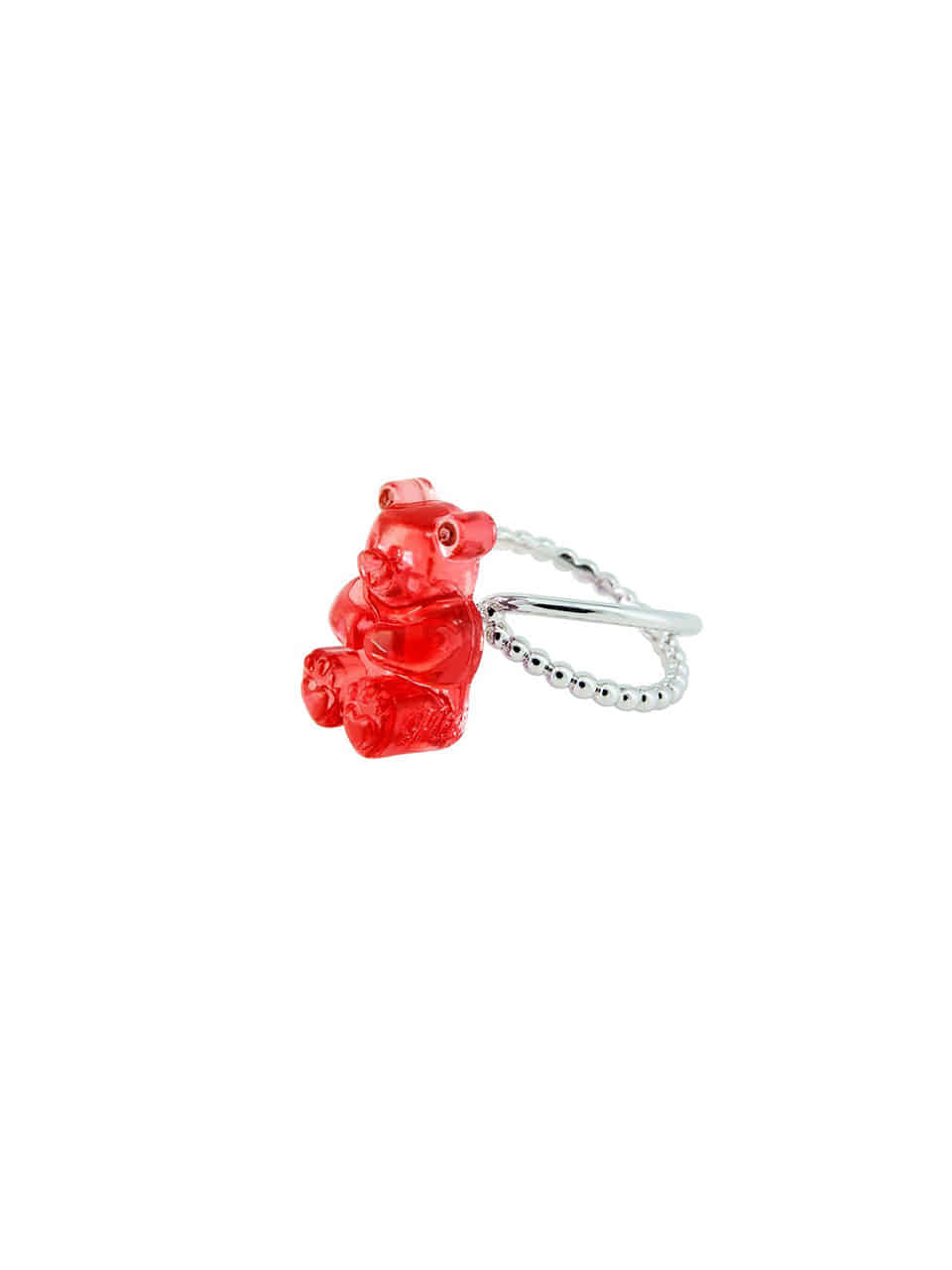 [리퍼브]GUMMY BEAR RING (RED)