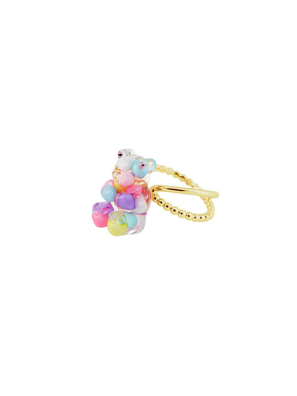 [리퍼브]GUMMY BEAR RING (MULTI PASTEL)